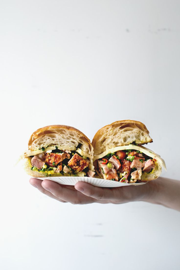 Lady and Pups - Your Next Perfect Porchetta Sandwich is from Chinatown