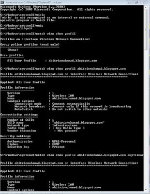 furniture minimalis: cara mengetahui password wifi dengan cmd bawaan wi...