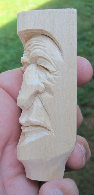 Cartoons 2 Carvings: block head whittle doodles
