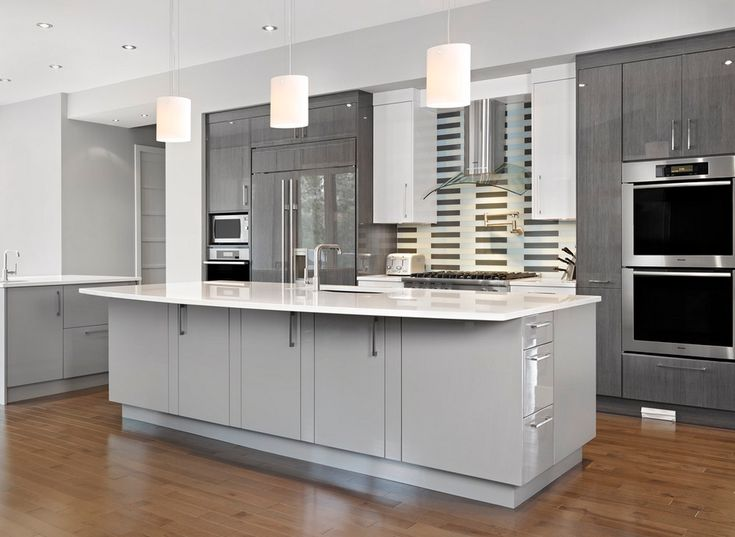 What Do You Think Of California Paints Legendary Gray DE6369 In This  Kitchen ? #graycolors
