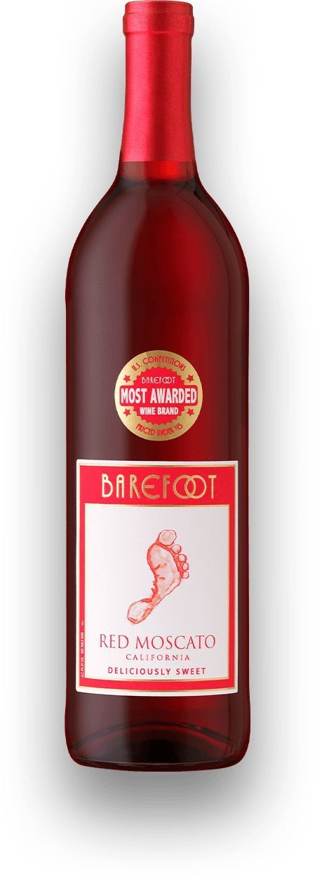 Barefoot Red Moscato.