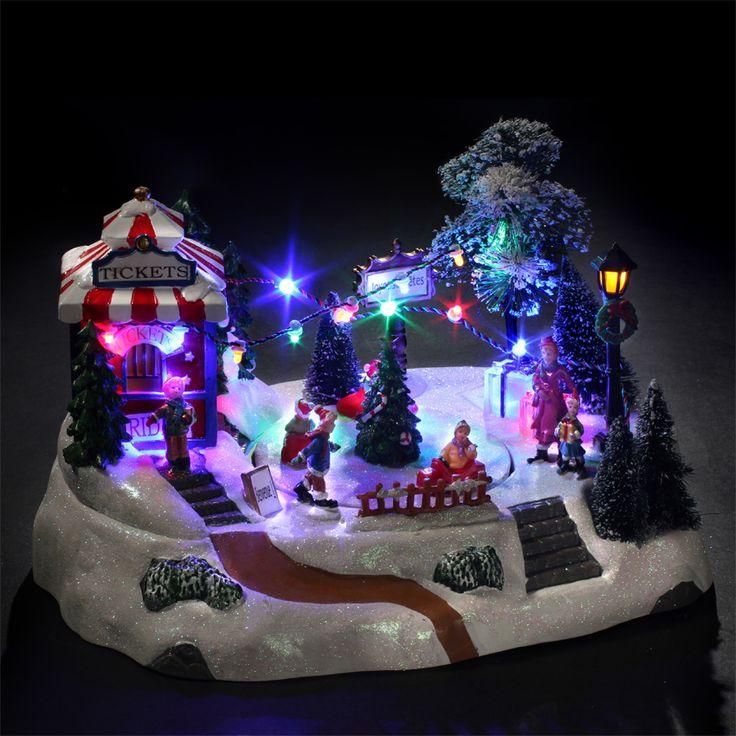 Village de Noël lumineux Course de Voitures : choisissez parmi tous nos produits Village de Noël lumineux