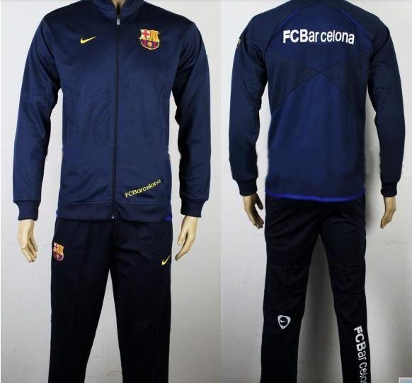 Спортивный костюм футбольного клуба барселона