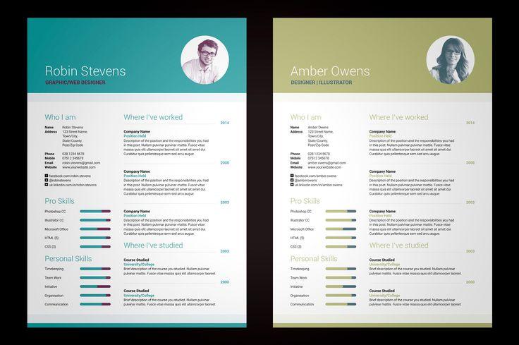 My Resume V2 by bilmaw creative on @creativemarket