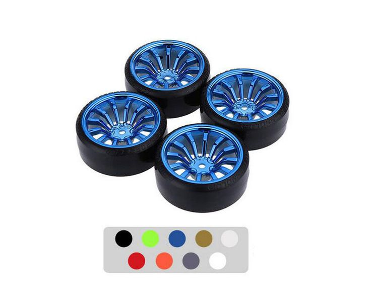 Free Shipping 4pcs 1/10 RC Drift wheels wheel for 1/10 RC Car Traxxas HSP Tamiya HPI. Free Shipping 4pcs 1/10 RC Drift wheels wheel for 1/10 RC Car Traxxas HSP Tamiya HPI Kyosho RC Car modelBrand Name: SHUAICHIRC Parts & Accs: Connectors/WiringUpgrade Parts/Accessories: TiresFour-wheel Drive Attributes: TiresMaterial: Other
