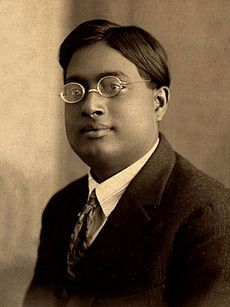 Satyendra Nath Bose, provided the foundation for Bose–Einstein statistic of quantum statistics