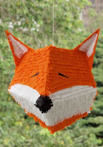 Etsy - Fox Pinata! {owithdoubledots}
