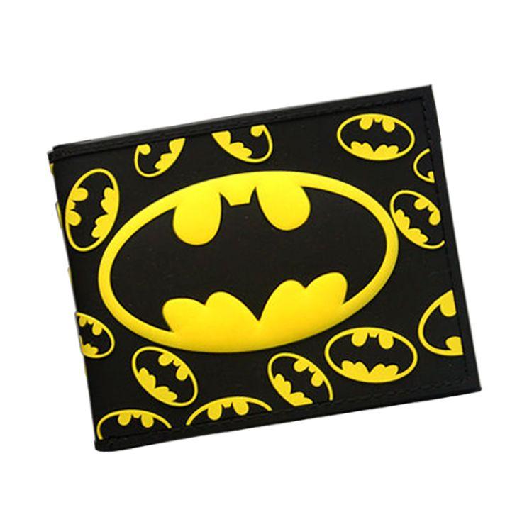 バットマンシリーズ漫画財布アベンジャーズsuper heroバットマン財布ティーンの男の子女の子革財布カードホルダーdcコミックス財布