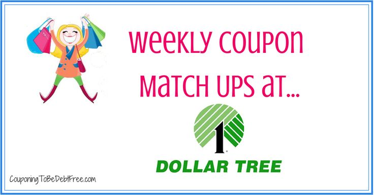 Freebies with coupons at dollar tree