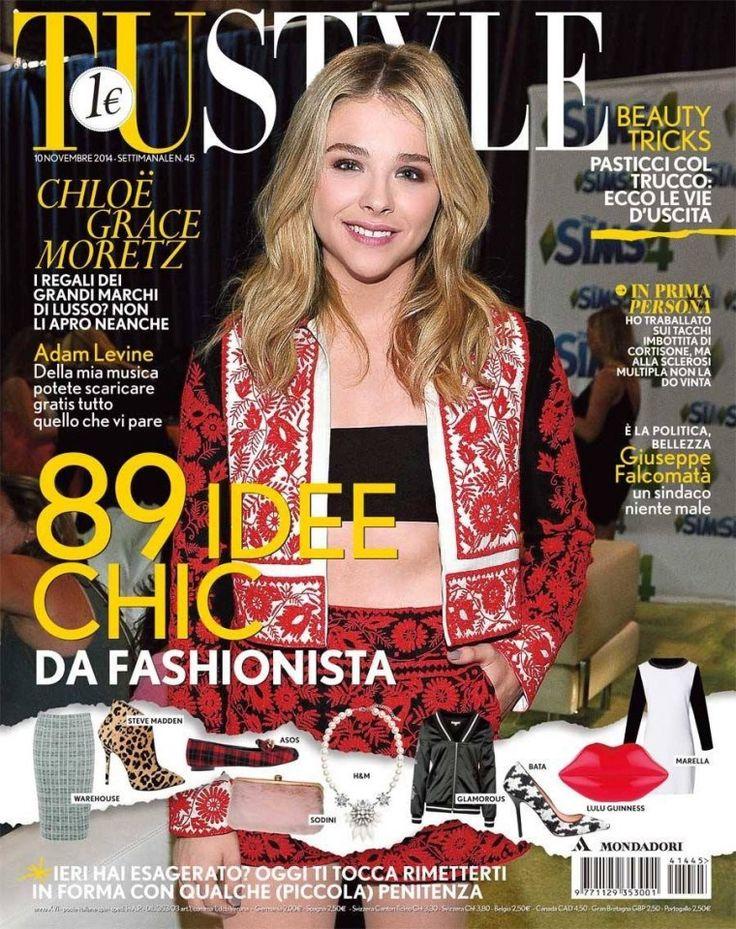 Chloé Moretz TUSTYLE magazine