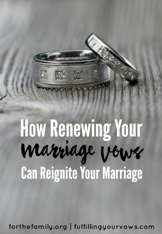 Do you remember your vows? When we committed our lives to our spouses on our wedding day, we spoke some of the most sacred words in our love story. Recommitting to them and renewing them can prove to be quite wonderful! Are you ready to reignite your marriage?