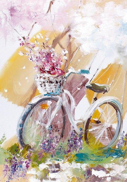 картины с велосипедом: 18 тыс изображений найдено в Яндекс.Картинках