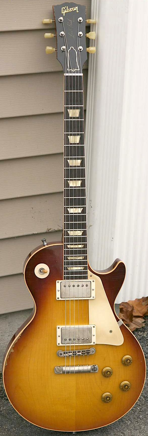 2010 Gibson 1957 Reissue Refinished/Aged by Dave Johnson to a Pearly Gates Plaintop