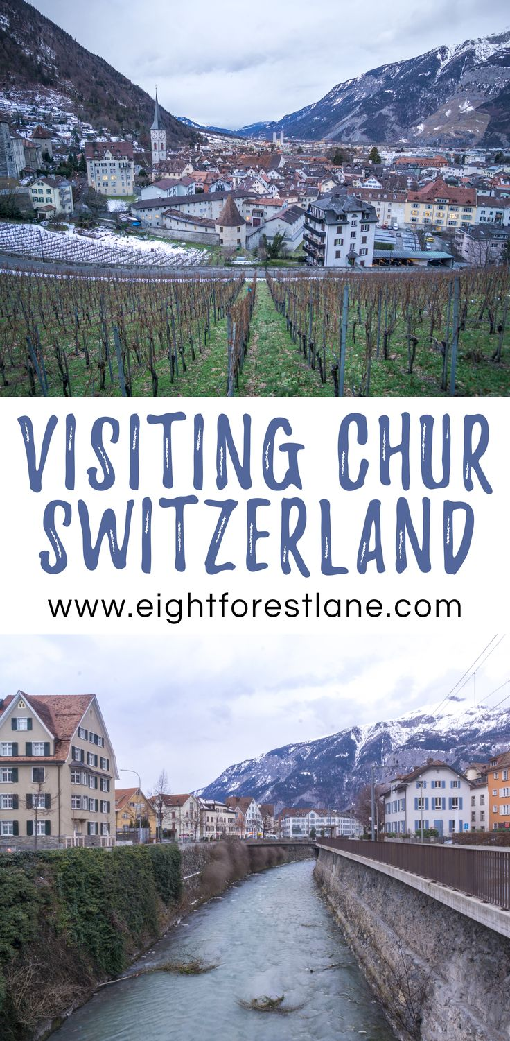 Exploring the Old Town of Chur, Switzerland