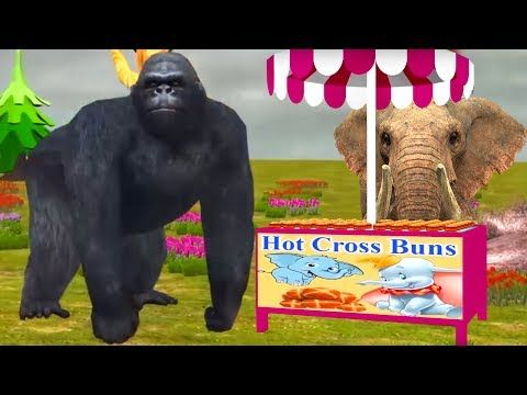(23) Best Rhymes For Kids | Animals Rhymes For Kids Toddlers | Cartoon Rhymes | Animals Nursery Rhymes - YouTube