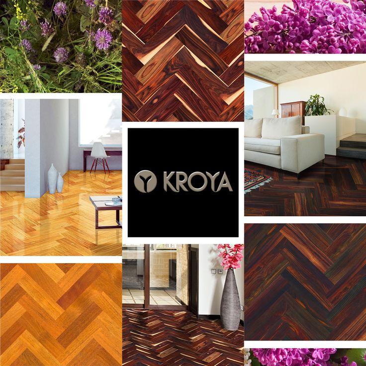 Here's a recap on KROYA Herringbone Collections for your Summer home inspiration.  More details on : www.kroyafloors.com  #hardwood #flooring #summer #homedecor #woodflooring #interiordesign #architecture