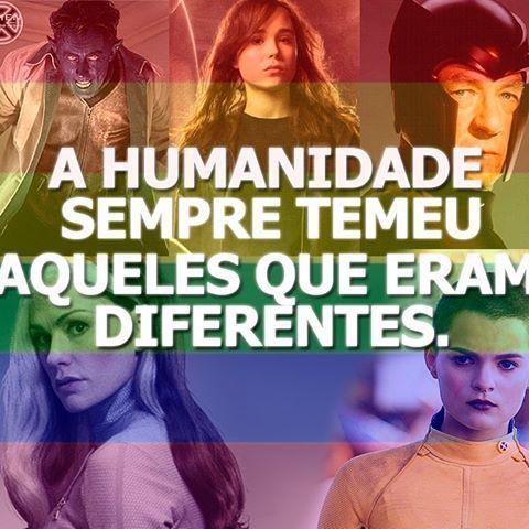 Você já tentou não ser um mutante? (X-Men 2, 2003). 28 de Junho - Dia Internacional do Orgulho LGBT  #gay #orgulho #mutante #xmen