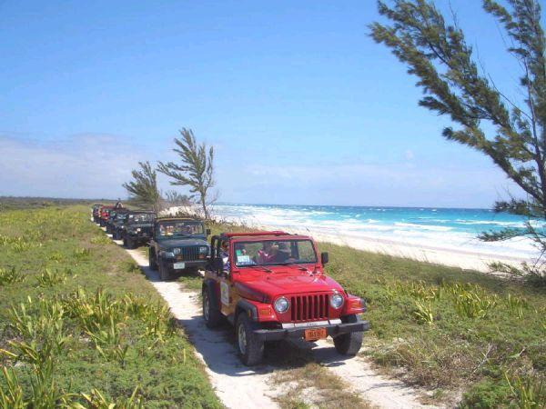 The Bahamas - Freeport Jeep Safari Tour..This was fun Carnival Pride cruise.....October 2013