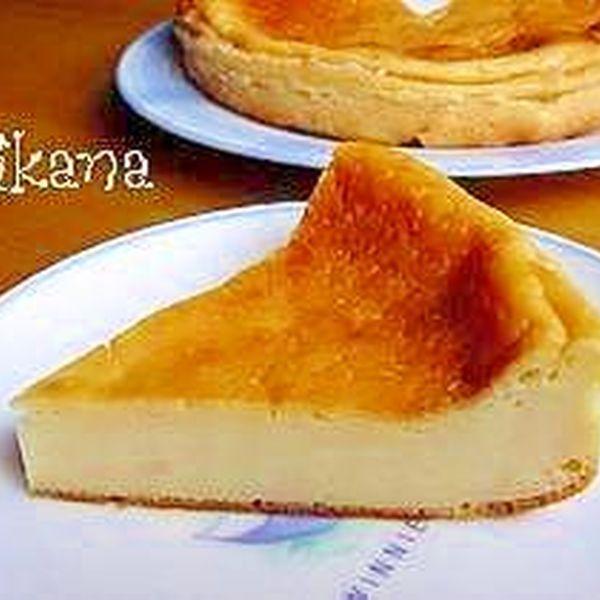 ヨーグルトとHMで超簡単濃厚チーズケーキ