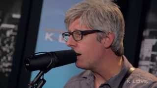 "This is Contemporary Christian Music singer Matt Maher performing his ""Lord I Need You"" song at K-LOVE Christian radio station."