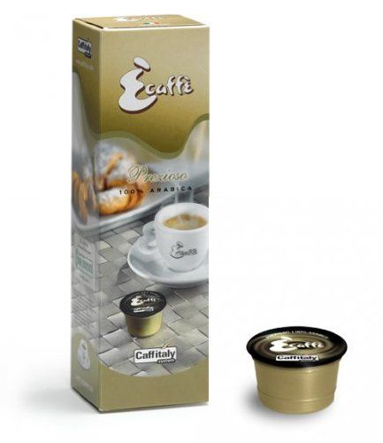 Ecaffe Caffitaly Prezioso 100% Arabica Coffee Capsules - 10 Pack - http://thecoffeepod.biz/ecaffe-caffitaly-prezioso-100-arabica-coffee-capsules-10-pack/