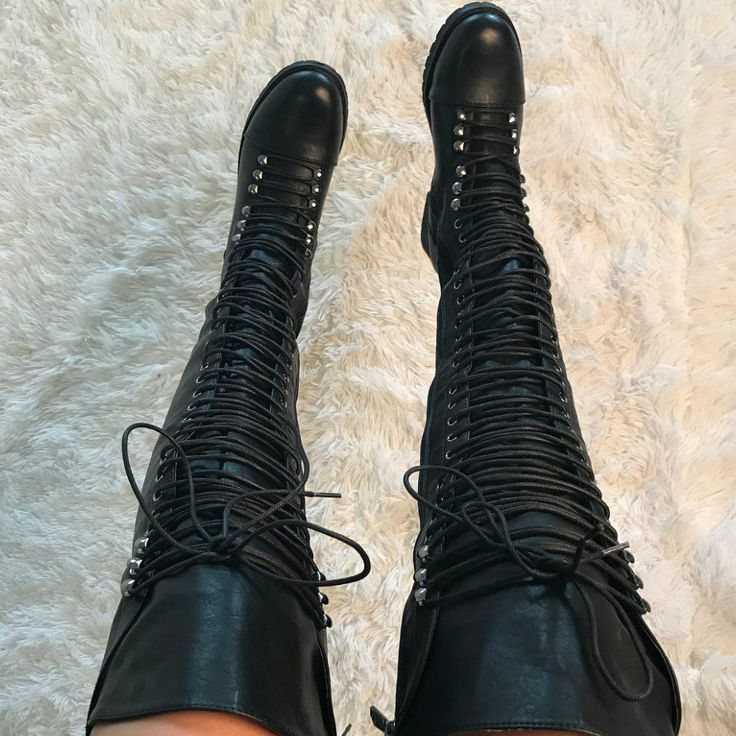 Thigh High Combat Boots Travis 05 http://www.myshoebazar.com/product/thigh-high-combat-boots/