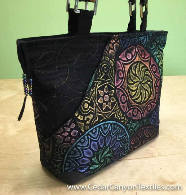 25 best ideas about handmade fabric bags on pinterest christmas sewing projects sewing for How to make designer bags at home