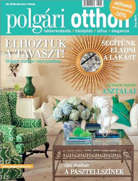 Hungarian Decor Magazine Polgari Otthon April 2014 Tobifairley Com