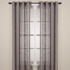 Alton Solid Grommet Window Curtain Panels In White For The