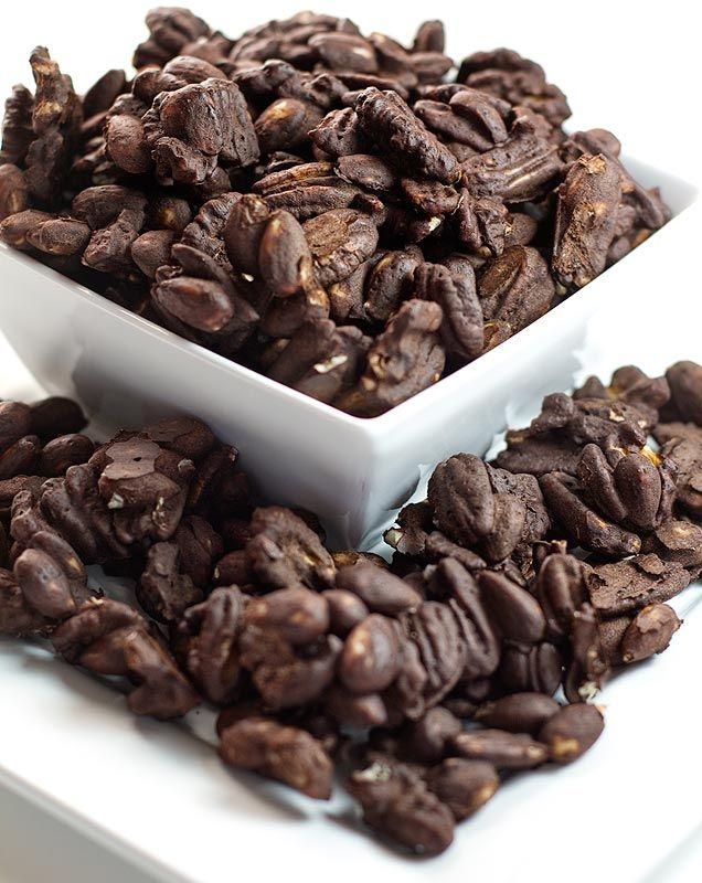 Baked Cocoa Nuts / @DJ Foodie / DJFoodie.com