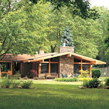 363 best curb appeal images on pinterest exterior homes for Windows for ranch style homes