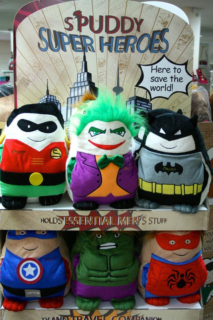 Spuddy Superheroes!