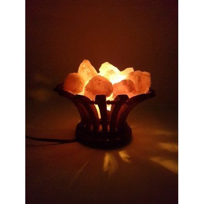 New!! Wooden Basket salt lamp – Happy Kombucha only £27.99