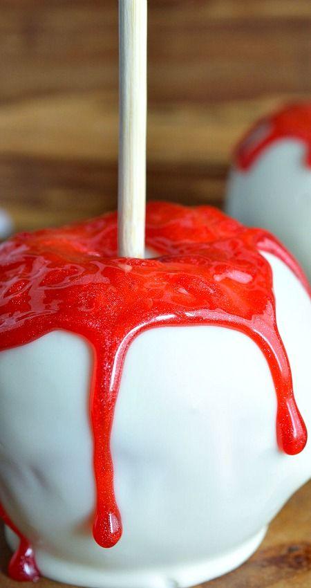 271 best Candy apples images on Pinterest   Caramel apples ...