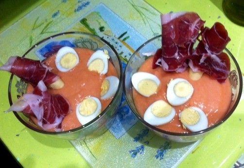 Salmorejo Gourmet para #Mycook http://www.mycook.es/receta/salmorejo-gourmet/