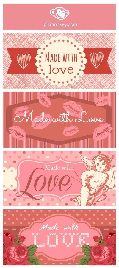 Personalización de Blogs, blog sobre blogs: como crear un blog y trucos blogger: Como hacer nuestras propias etiquetas y postales de San Valentín + Etiquetas imprimibles gratis