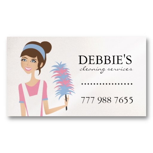 20 best house cleaning business cards images on pinterest cleaning whimsical house cleaning services business cards wajeb Choice Image