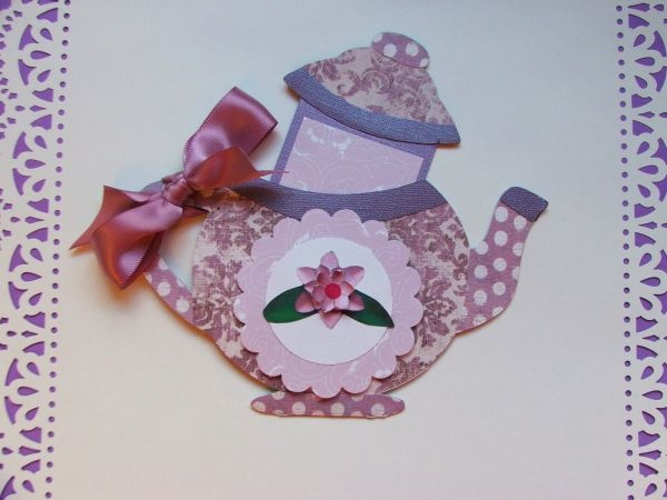 mothers day teapot card with tea bag tea for mom kids crafts scout crafts girl scouts. Black Bedroom Furniture Sets. Home Design Ideas