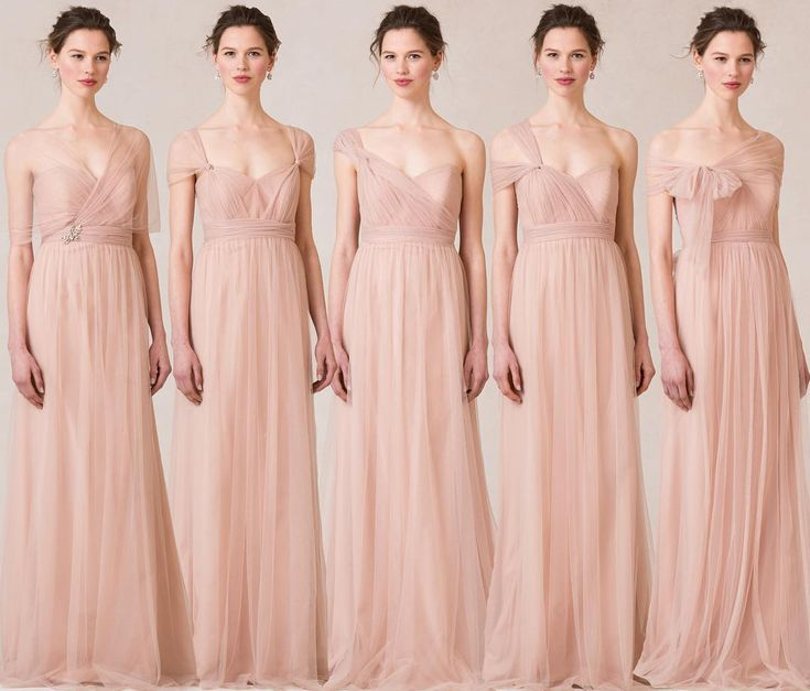 New ways to style your Annabelle Dress #jycannabelle in Cameo Pink Tulle!  NABI…