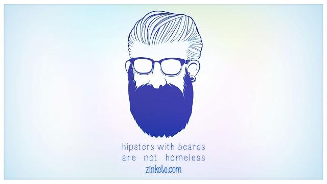 """""""Hipsters with beards are not homeless"""" ¿En qué se diferencia un hipster de un mendigo? Ahi dejo el debate abierto."""