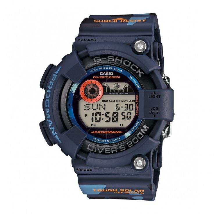 "Casio G-Shock GF-8250CM-2ER ""Men in Camo"" Frogman (Navy)"