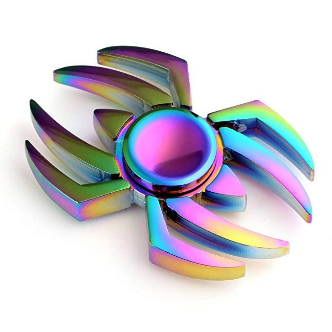 Maybo Sports Wiitin Cool Fidget Spinner Toy The Amazing Spider Shaped Metal Fidget Spinner Mixe Cool Fidget Spinners Fidget Spinner Toy Metal Fidget Spinner