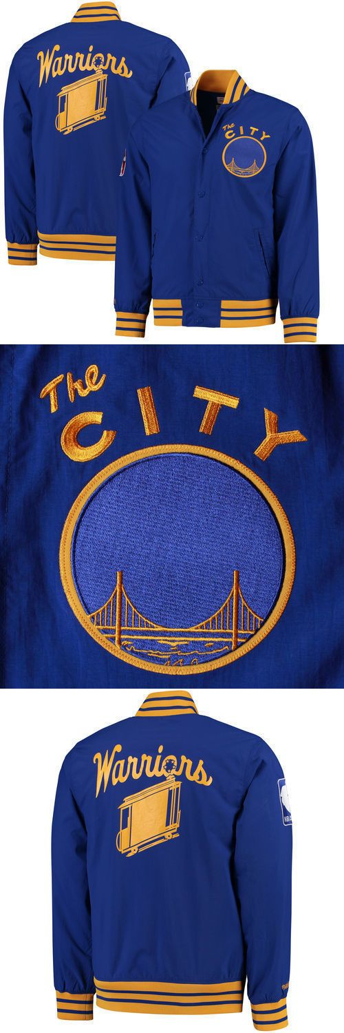 Basketball-NBA 24442: Mitchell And Ness Golden State Warriors Jacket - Nba- Brand New With Tags -> BUY IT NOW ONLY: $100 on eBay!
