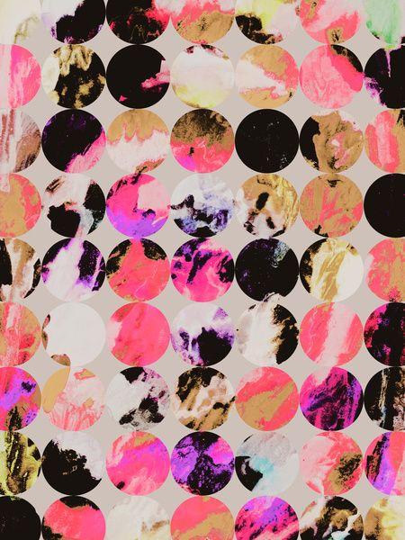 ..but not! Circles Art Print by Georgiana Paraschiv | Society6