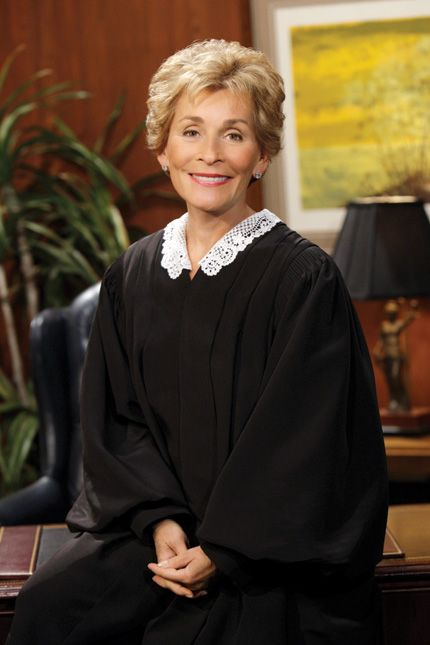 """Judge Judy - Great words of advice, """"if it doesn't make sense it probably isn't true!"""" Check out www.judgejudy.com"""