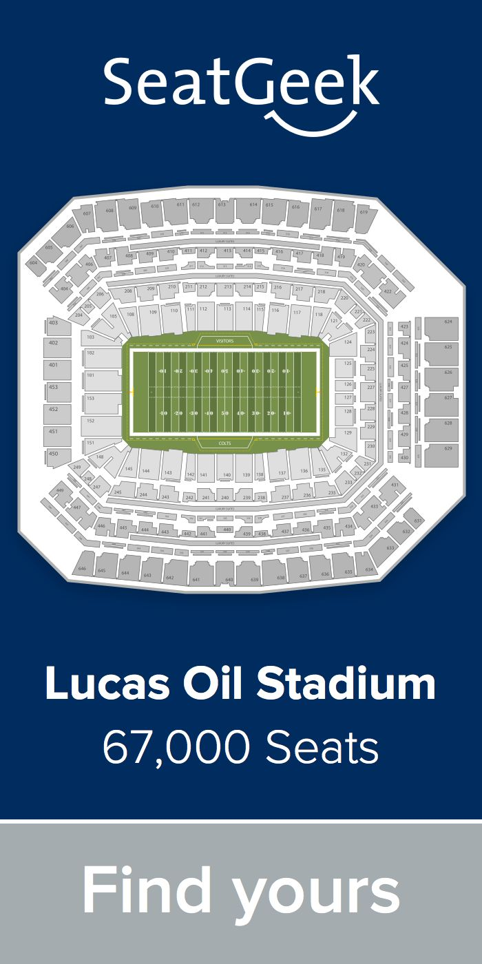 The best deals for Colts tickets are on SeatGeek!