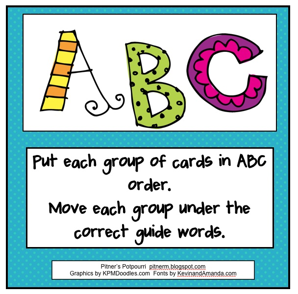 159 best 2nd grade images on pinterest classroom ideas activities abc order fandeluxe Gallery