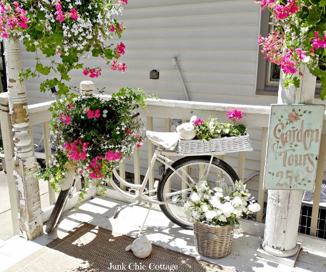 Junk Chic Cottage: Summer Cottage Garden Party