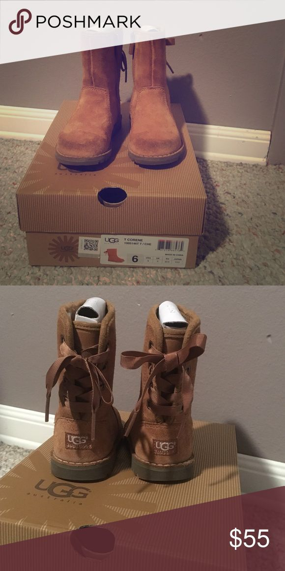 Kids Ugg Boots Toddler Girls Size 6 Corene Ugg Boots. Worn only a handful of times. UGG Shoes Boots