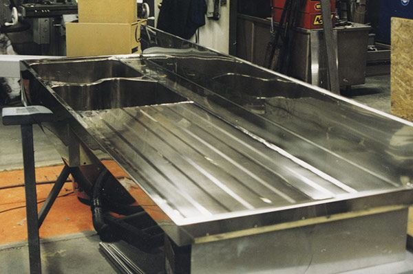 German silver sink with drainboard sinks bath and for German kitchen sinks